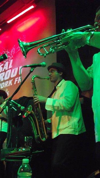 David O and Ozzy Cardona live at SOBs NYC